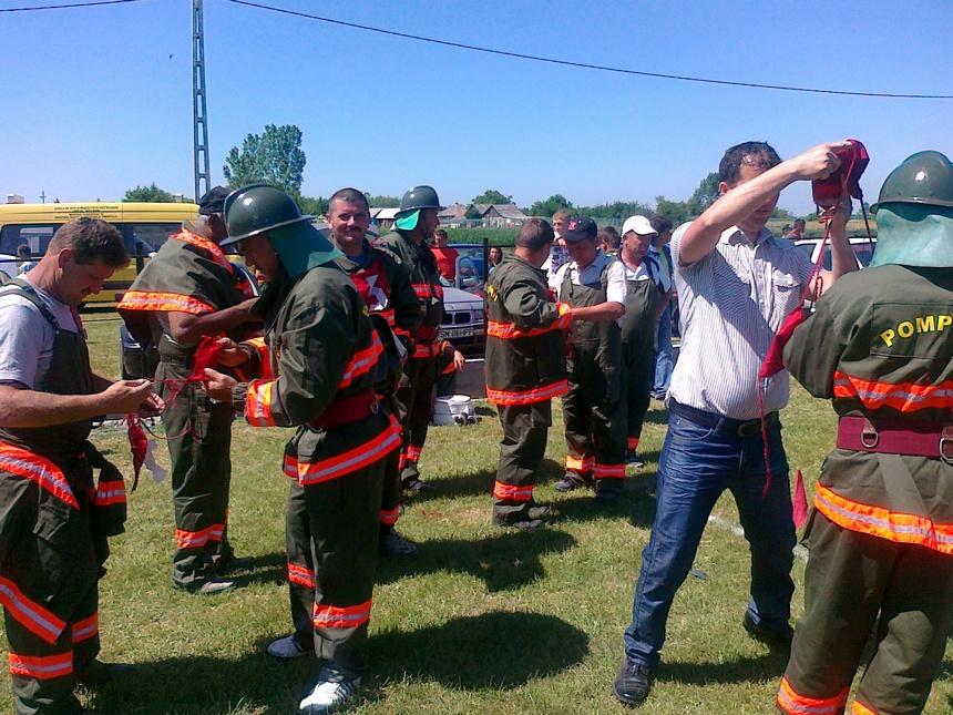 Concurs pompieri voluntari