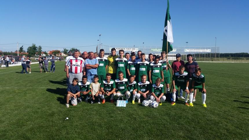 Echipa de juniori Recolta Dorolț Campioană 2016