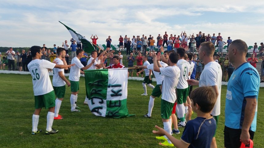 Echipa de seniori Recolta Dorolț Liga Elite Campioană 2016