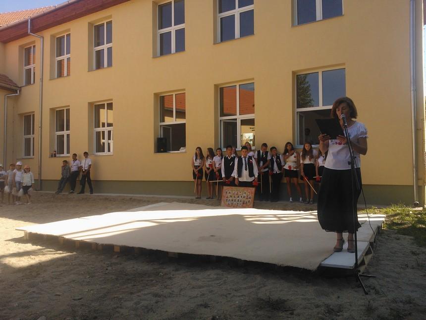 La recepția noii școli 2016
